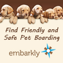You can find dog boarding in the Washington, D.C. area at Embarkly
