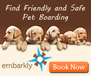 Book Dog Boarding at Embarkly!